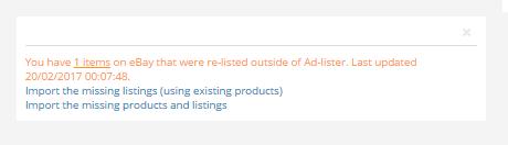 missing listings