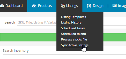 sync active listings ad lister