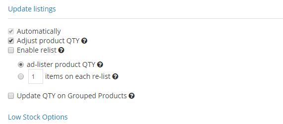 Goodbye turbo lister hello ad lister start listing on ebay now auto relisting rules update ebay listings maxwellsz