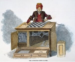 First chess playing machine