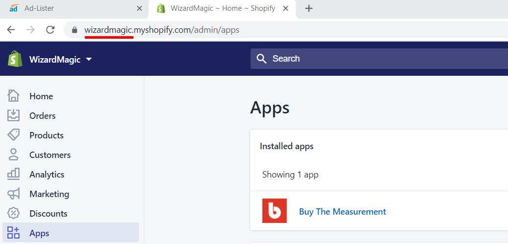 Wizardmagic Shopify platform