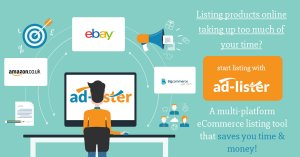 Ad-Lister - the ultimate listing tool - doesn't matter if you are selling on eBay or Amazon - it get's the job done with ease