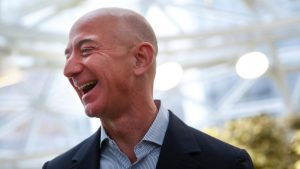 Jeff Bezos - founder of Amazon