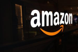 Amazon logo - online retail powerhouse