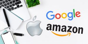 While Google and apple were fighting to be No.1 - Amazon became the most valuable brand