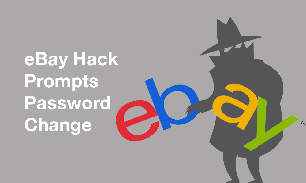 Password change is recommended if your eBay account gets hacked