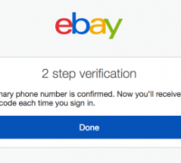 Why is it important to set up 2 step verification on your eBay account
