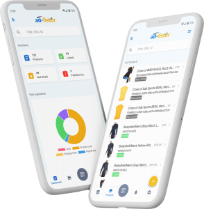 ad-lister mobile app